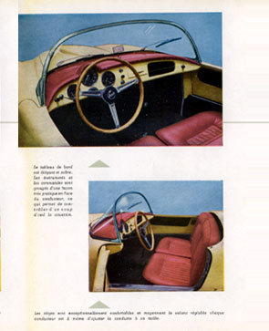 Click here to see an authentic 1955 brochure from the Aurelia Spider